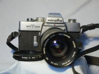 '              303+ 28-85MM -NICE SET- ' Minolta SRT303 SLR Camera + 28-85MM £29.99